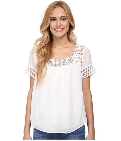 Rebecca Minkoff - Andy Top (White) Women's Clothing