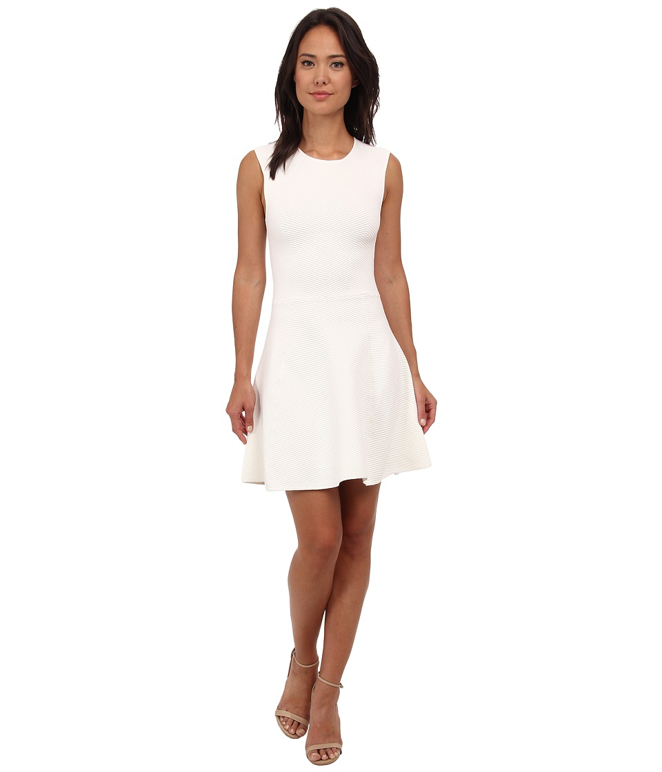 Rebecca Minkoff Freyah Dress (Cream Super Soft Leather) Women
