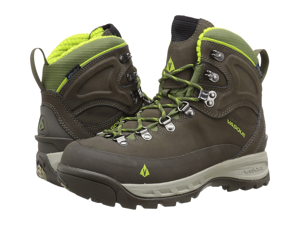 Vasque - Snowblime UltraDry (Black Olive/Lime Green) Women's Cold Weather Boots
