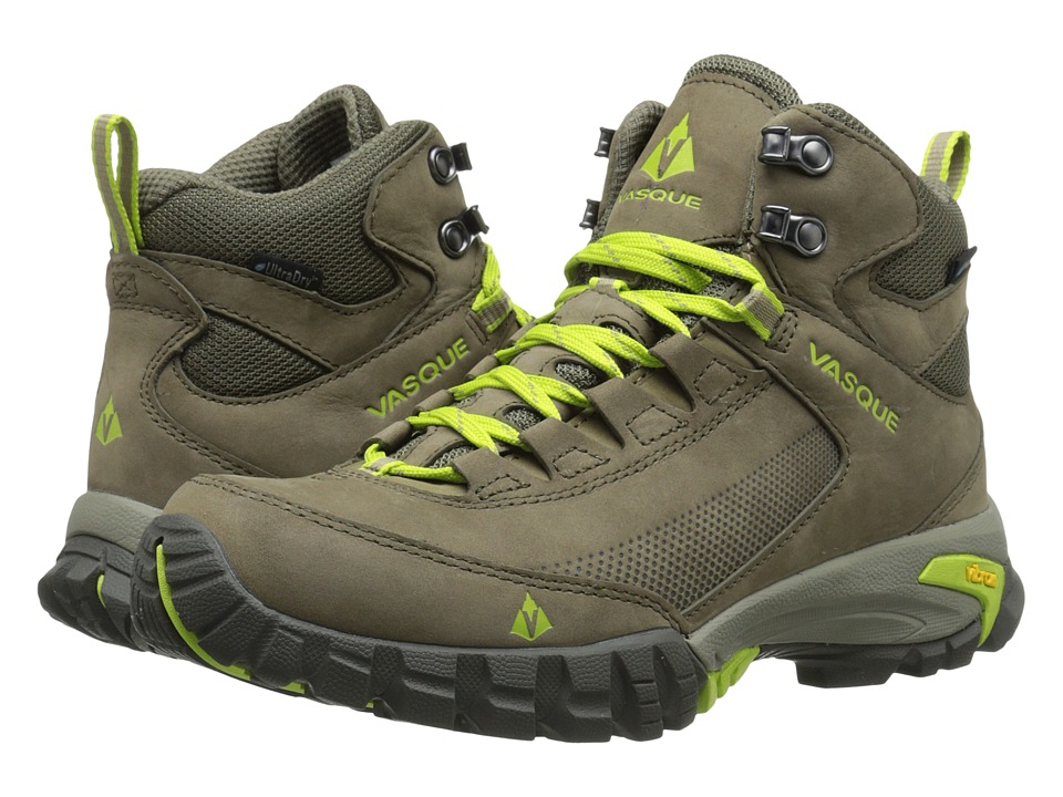 Vasque - Talus Trek UltraDry (Bungee Cord/Green Glow) Women's Boots