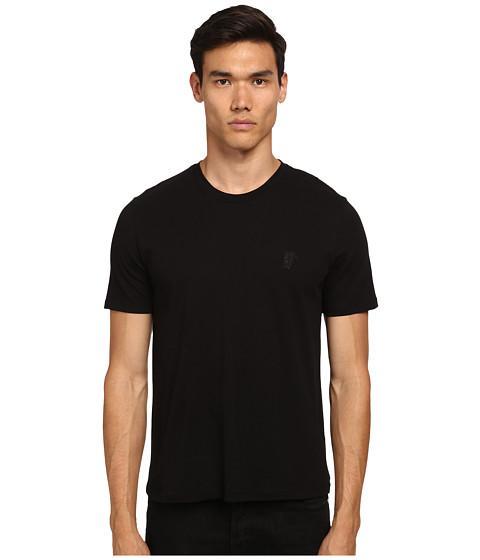 Versace Collection - Medusa Logo Crew Neck T-Shirt (Black) Men