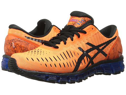 ASICS - GEL-Quantum 360 (Hot Orange/Black/Blue) Men's Running Shoes