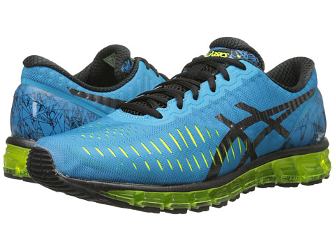 ASICS - GEL-Quantum 360 (Turquoise/Black/Flash Yellow) Men's Running Shoes