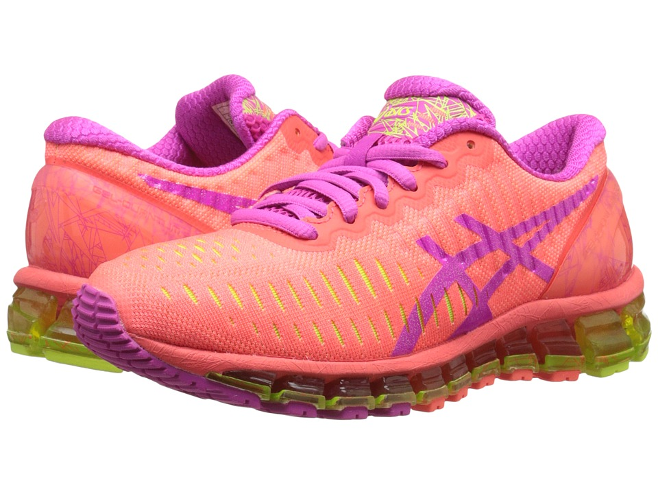 ASICS - GEL-Quantum 360 (Flash Coral/Pink Glow/Flash Yellow) Women's Running Shoes