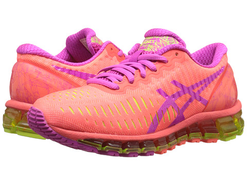 ASICS - GEL-Quantum 360 (Flash Coral/Pink Glow/Flash Yellow) Women