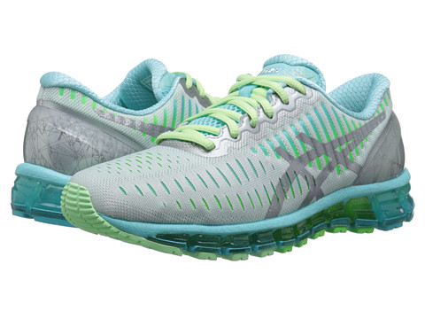 ASICS - GEL-Quantum 360 (Silver/Carbon/Turquoise) Women's Running Shoes
