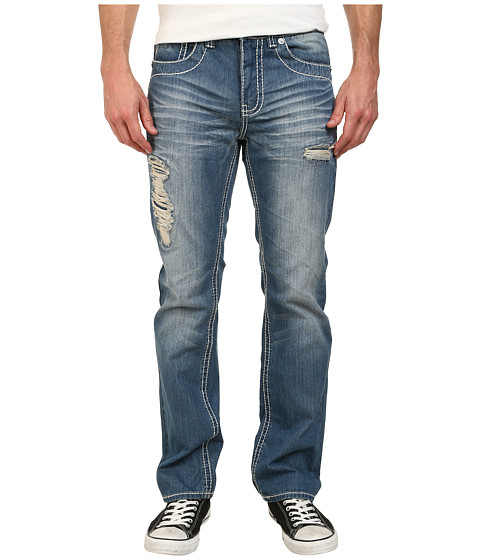 Antique Rivet - Henley Straight Jeans in Liberty (Liberty) Men's Jeans