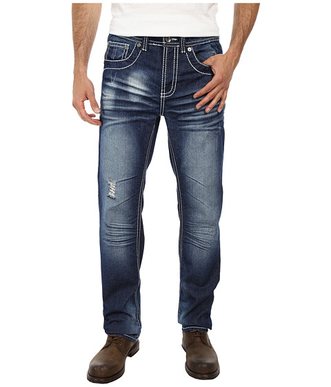 Antique Rivet - James Straight Jeans in Somerset (Somerset) Men's Jeans