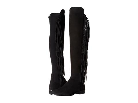 Stuart Weitzman - Mane (Black Suede) Women's Pull-on Boots