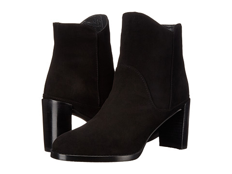 Stuart Weitzman - Mcclean (Black Suede) Women's Dress Pull-on Boots
