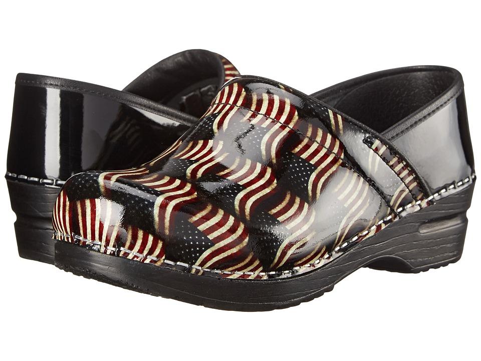 Sanita - Patriot (Multi Printed Patent) Women's Shoes