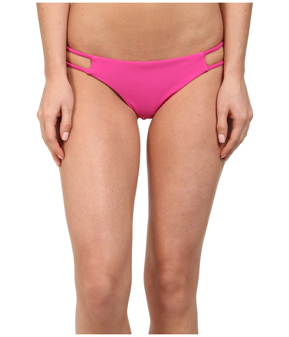 Volcom - Simply Solid Tiny Bottom (Scream Magenta) Women's Swimwear