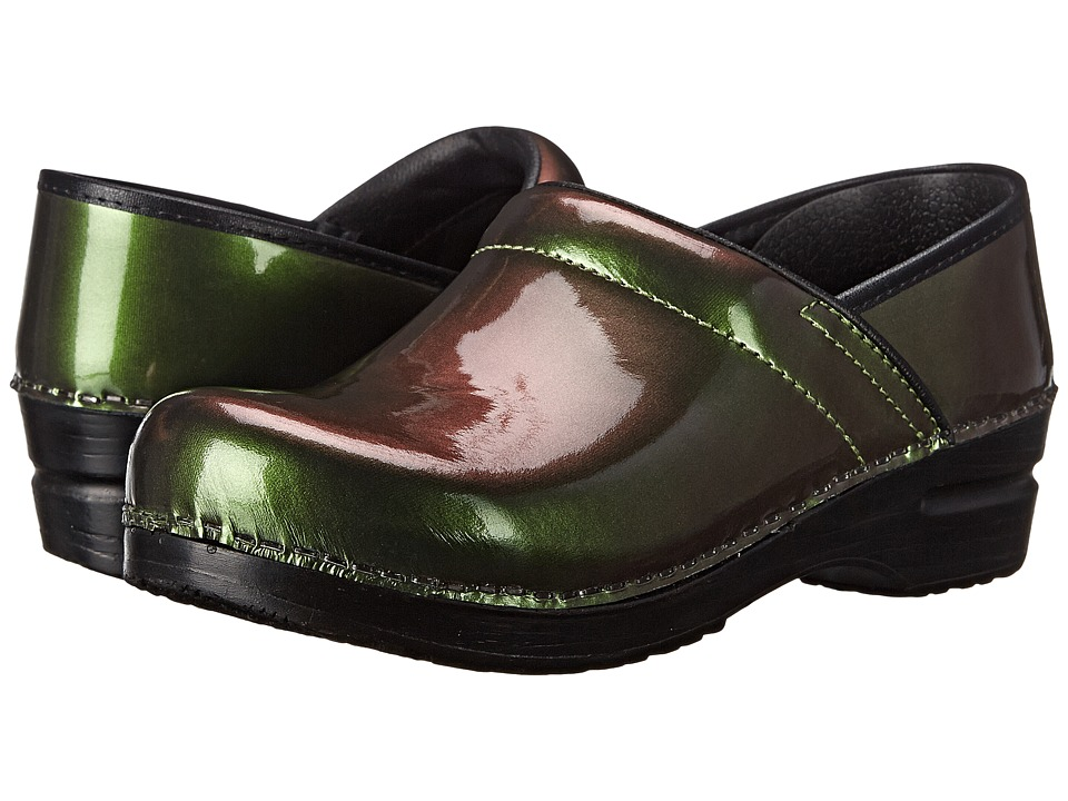 Sanita - Glimmer (Green Metallic Patent) Women