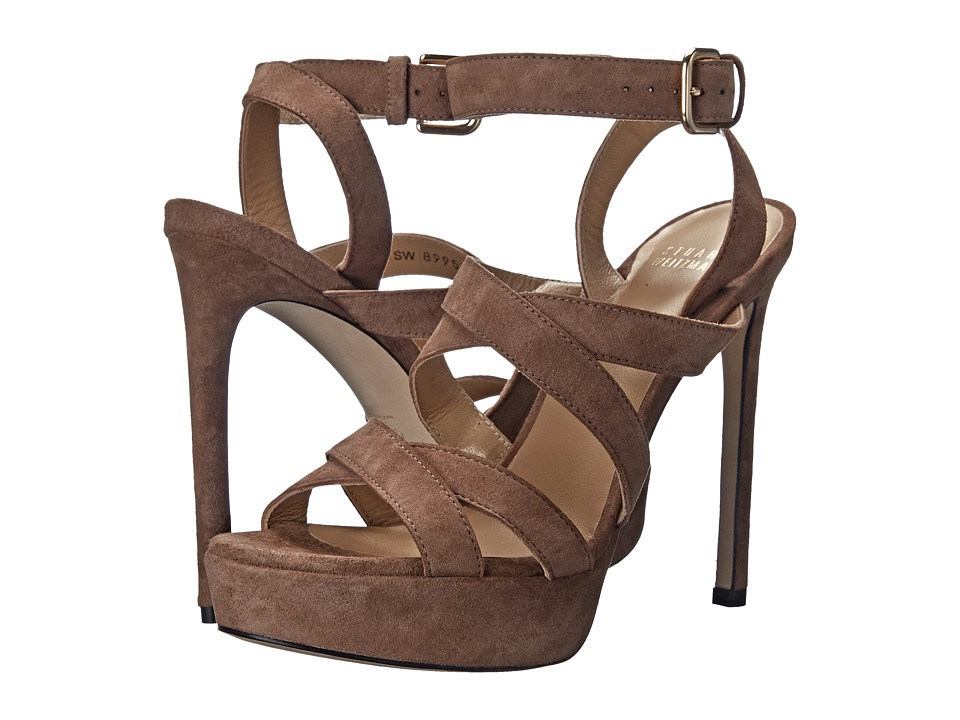 Stuart Weitzman - Soundtrack (Haze Suede) High Heels