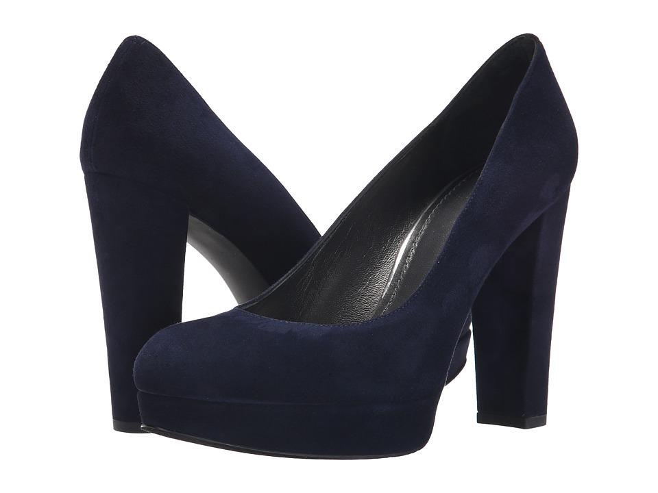 Stuart Weitzman - Strongswoon (Nice Blue Suede) High Heels