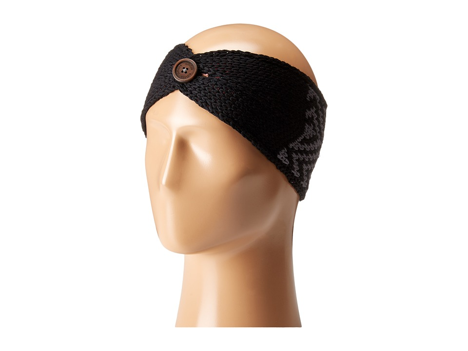 adidas - Holiday Headband (Black/Onyx) Caps