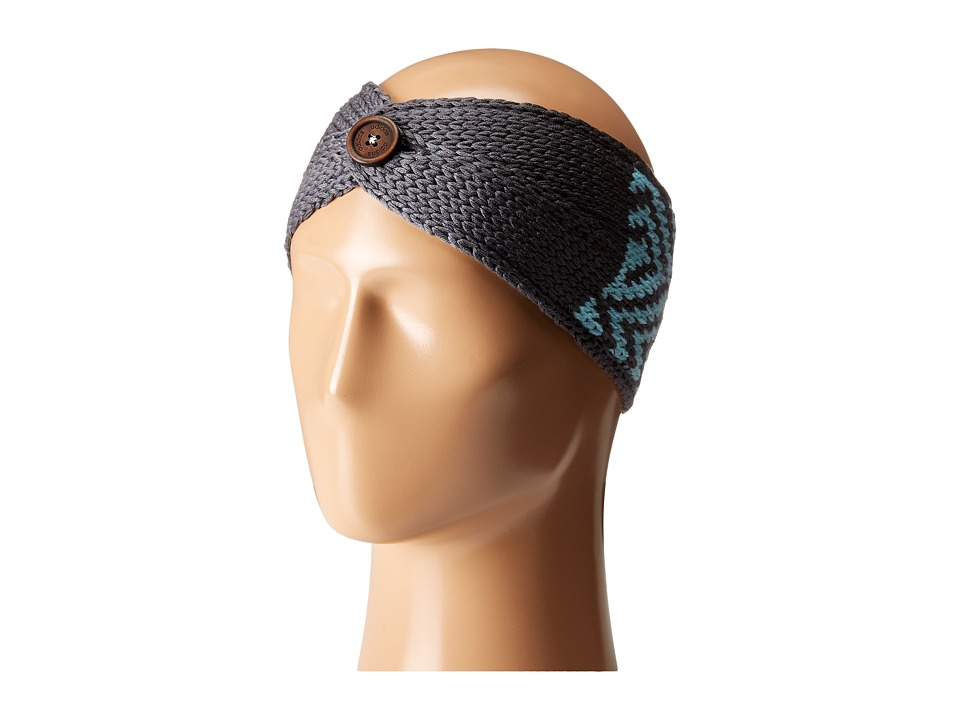 adidas - Holiday Headband (Onyx/Frozen Blue) Caps