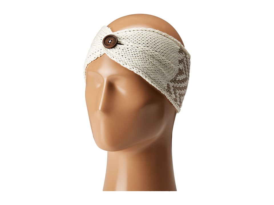 adidas - Holiday Headband (Chalk White/Light Brown) Caps