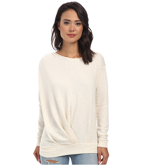 Free People - Draped Up Pullover (Oatmeal) Women