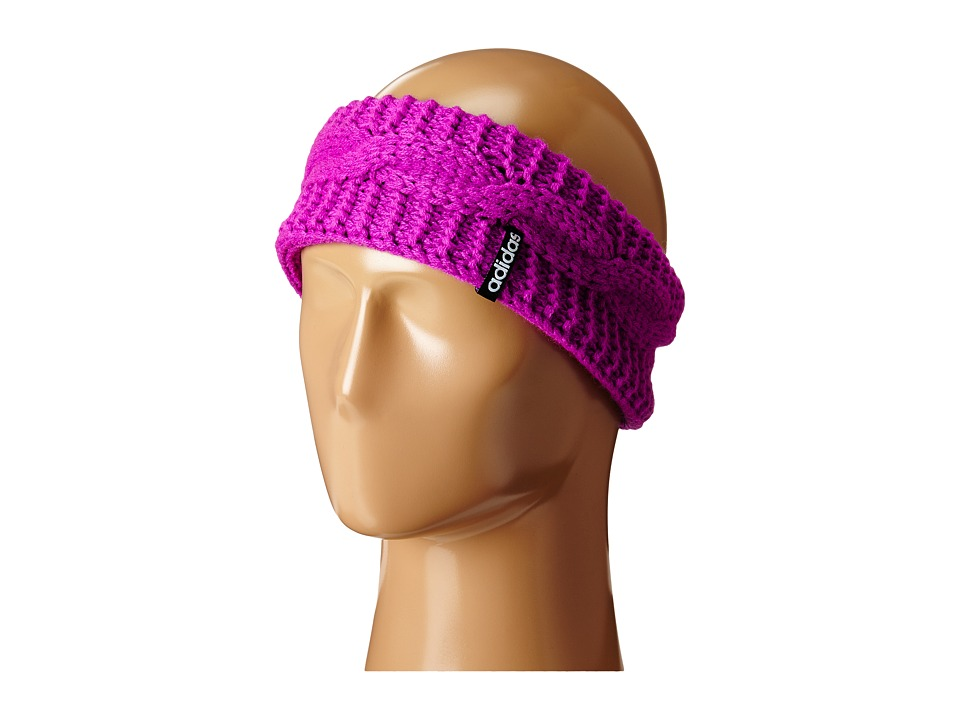 adidas - Ellory Headband (Flash Pink/Black) Headband