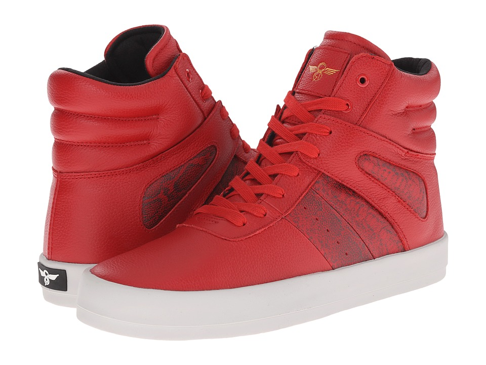 Creative Recreation - Moretti (Red Digital) Men's Lace up casual Shoes
