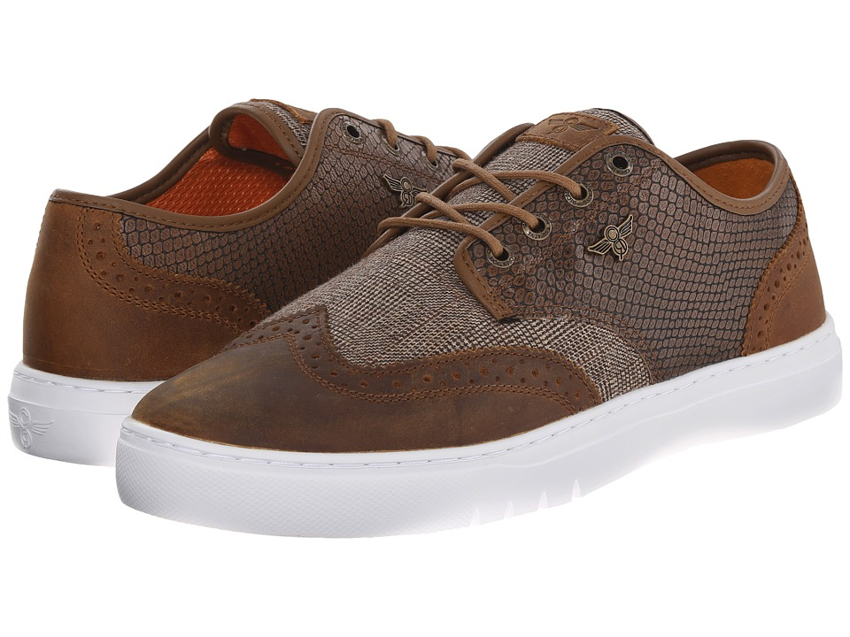 Creative Recreation - Defeo Q (Brown Reptile) Men's Lace up casual Shoes