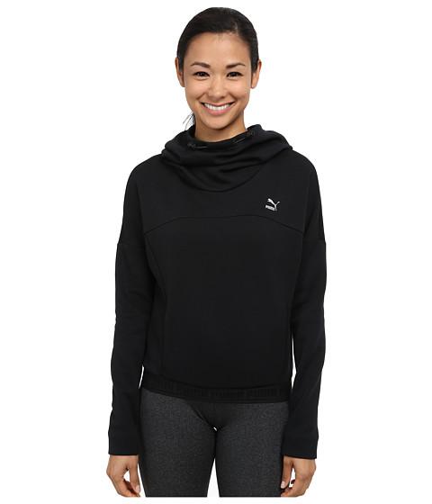 PUMA - Hoodie (Black) Women's Long Sleeve Pullover