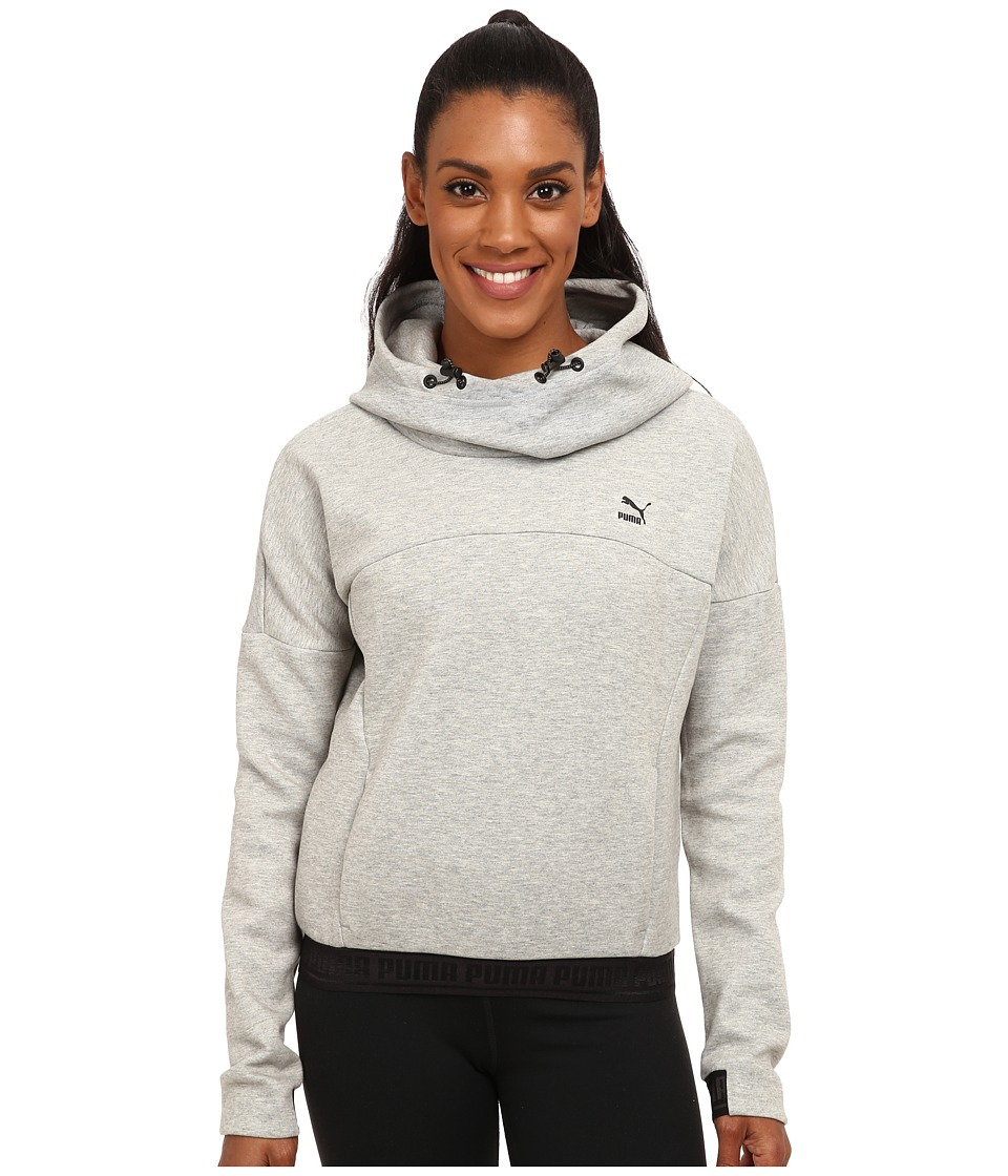 PUMA - Hoodie (Athletic Grey Heather) Women