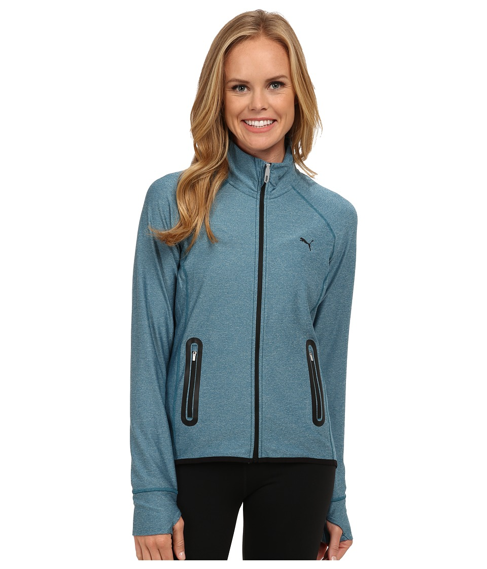 PUMA - WT PWRSHAPE Jacket (Blue Coral) Women's Jacket