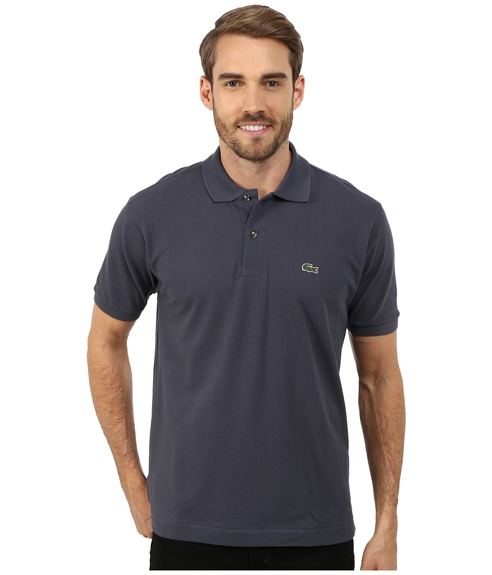Lacoste - L1212 Classic Pique Polo Shirt (Gravity) Men's Short Sleeve Knit
