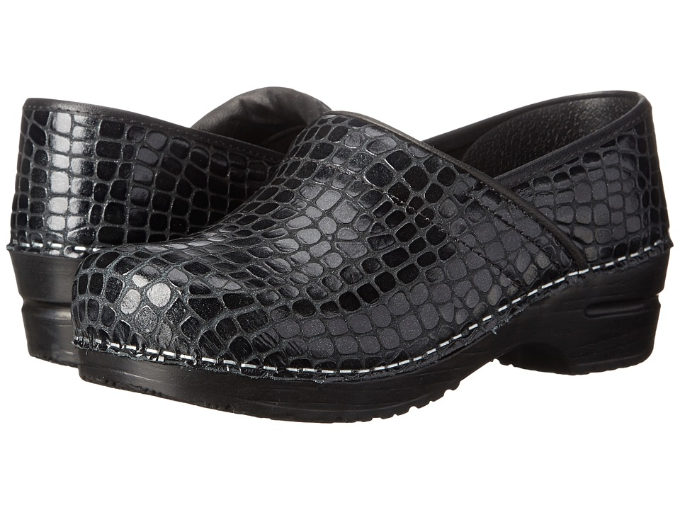 Sanita - Mystique (Black Embossed Leather) Women's Shoes