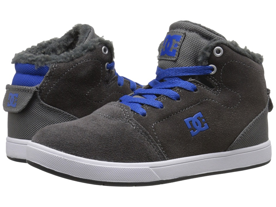 DC Kids - Crisis High WNT (Little Kid) (Grey/Blue) Boys Shoes