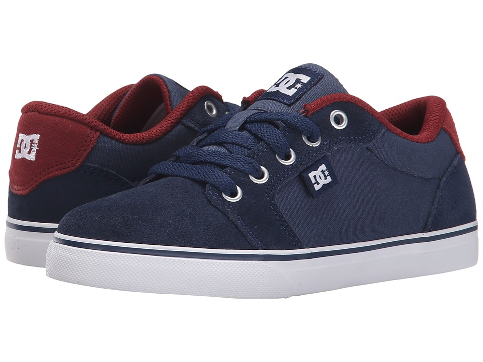 DC Kids - Anvil (Little Kid) (Insignia Blue) Boys Shoes