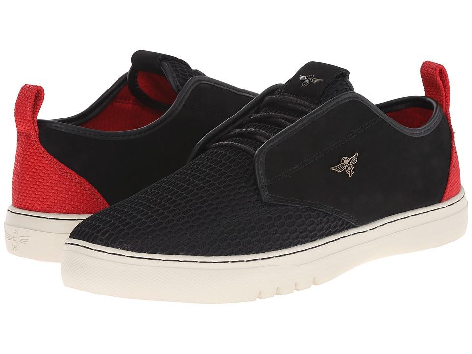 Creative Recreation - Lacava Q (Black Red Bone) Men's Lace up casual Shoes