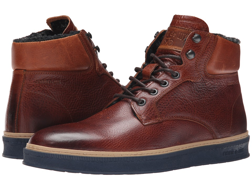 Cycleur de Luxe - Lissabon Wool (Cognac) Men's Shoes