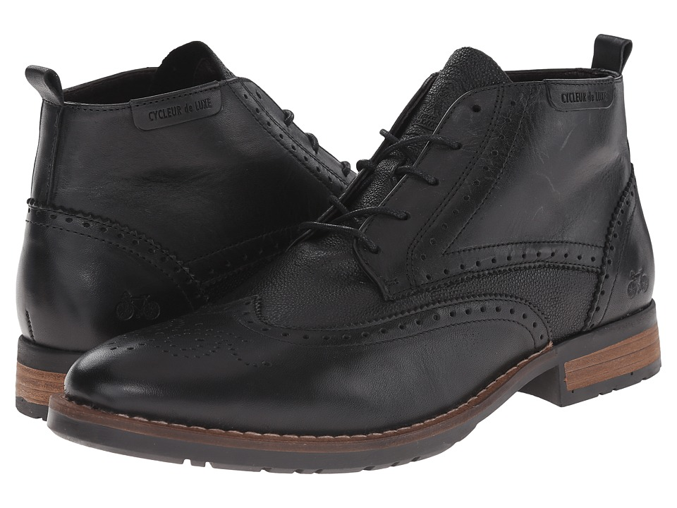 Cycleur de Luxe - New Annecy (Black/Granet) Men's Shoes