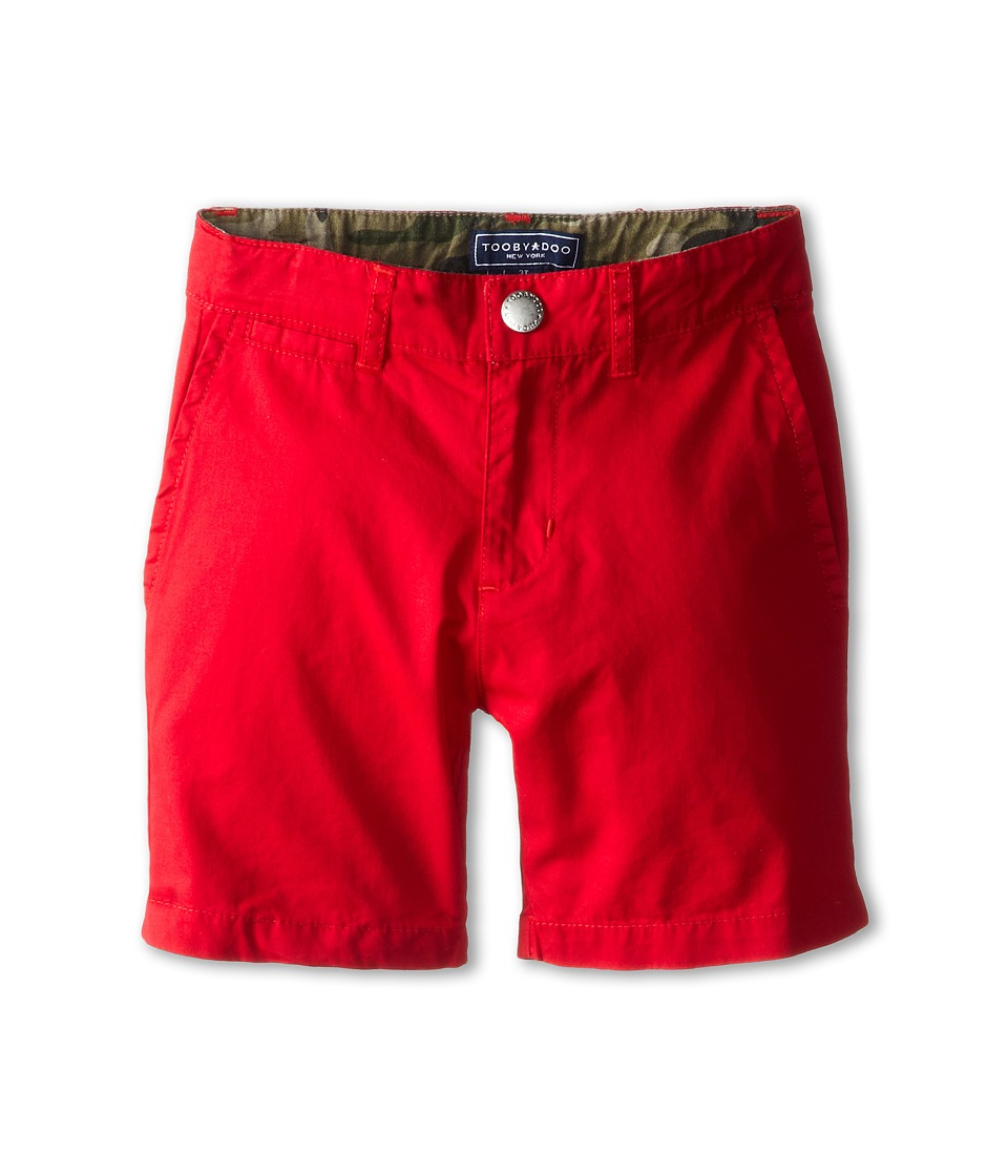 Toobydoo - Chino Shorts (Toddler/Little Kids/Big Kids) (Red 1) Boy's Shorts
