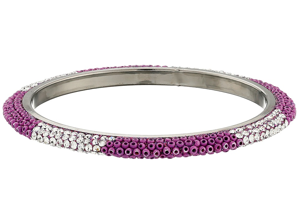 Gypsy SOULE - Bling Mix Stack Bangle - Narrow (Purple) Bracelet