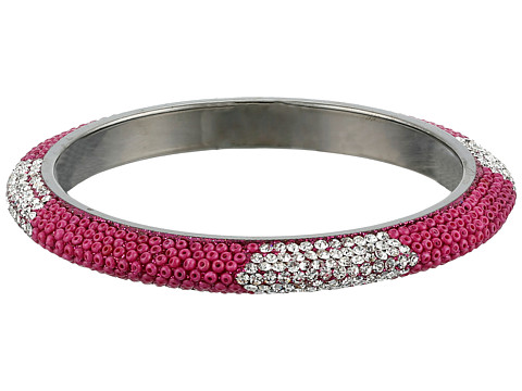 Gypsy SOULE - Bling Mix Stack Bangle - Wide (Fuchsia) Bracelet
