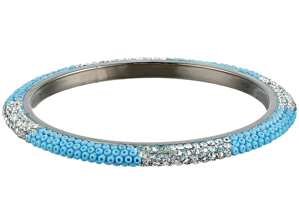 Gypsy SOULE - Bling Mix Stack Bangle - Narrow (Turquoise) Bracelet