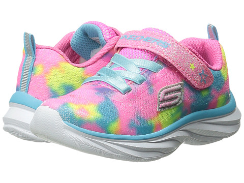 SKECHERS KIDS - Pepsters (Toddler) (Light Pink/Multi) Girls Shoes