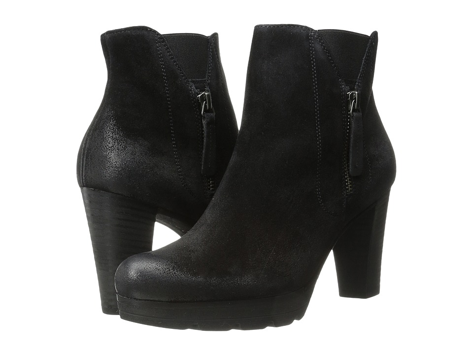 Paul Green Dashing (Black Suede) Women