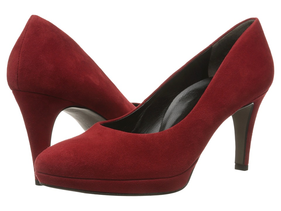 Paul Green Ceylon (Red Suede) High Heels