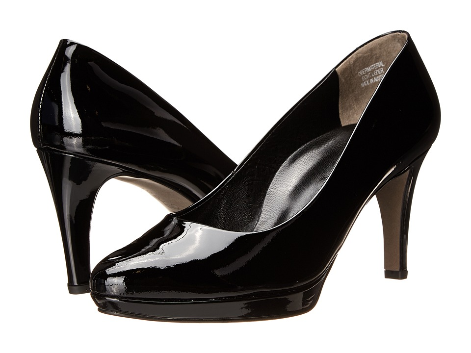 Paul Green - Ceylon (Black Patent) High Heels