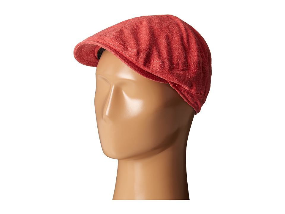Tommy Bahama - Washed Twill Ivy Cap (Red) Caps