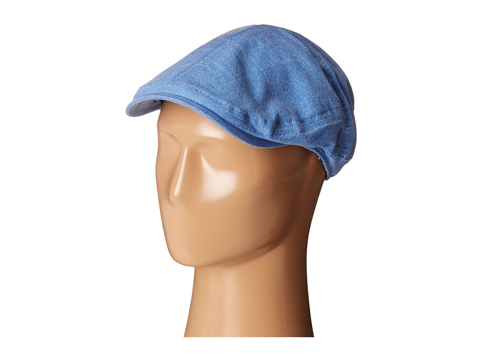Tommy Bahama - Washed Twill Ivy Cap (Blue) Caps