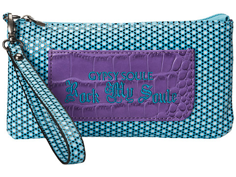 Gypsy SOULE - Rock My Soule Clutch (Turquoise) Clutch Handbags