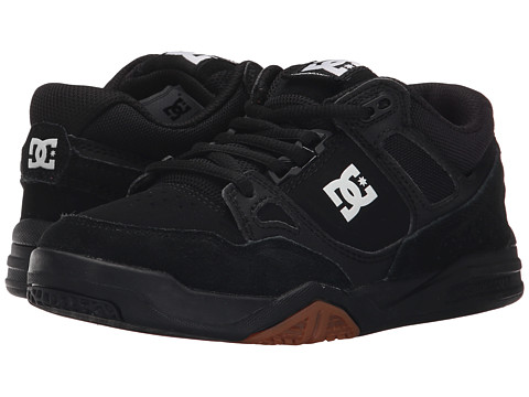 DC Kids - Stag 2 (Big Kid) (Black/Gum) Boys Shoes
