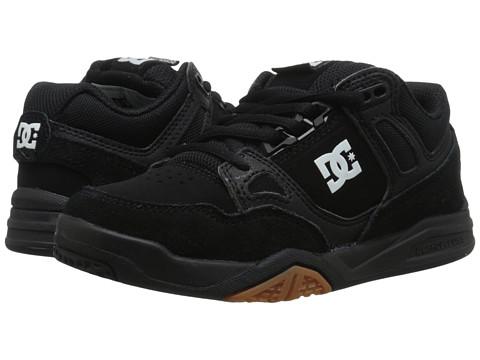 DC Kids - Stag 2 (Little Kid) (Black/Gum) Boys Shoes