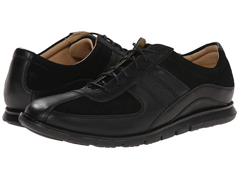 Cole Haan - Grant Sprint Sport Oxford II (Black/Black Suede) Men's Lace up casual Shoes